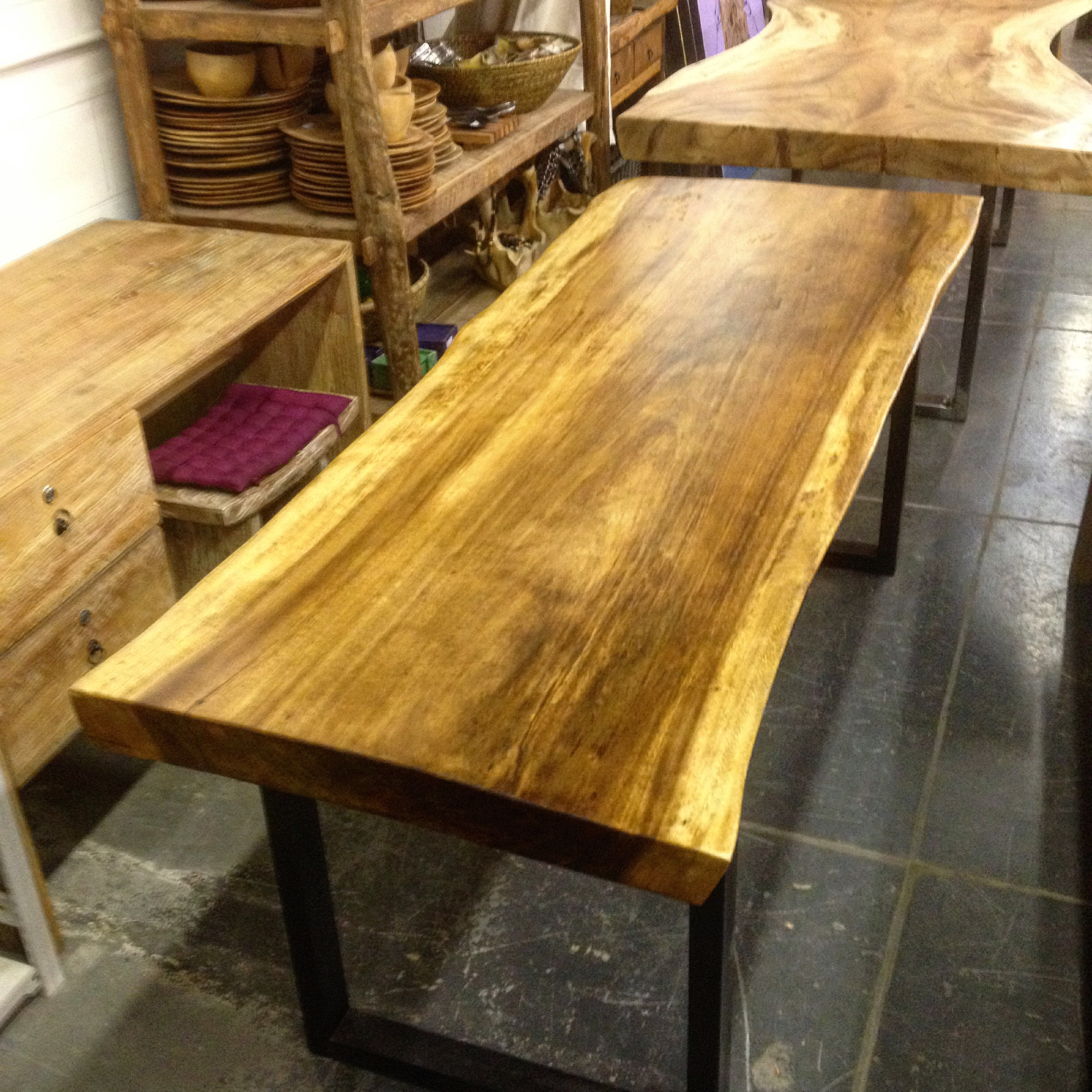 1509167571b1 Home   Live Edge Tables   Suar Live Edge Table Top  16